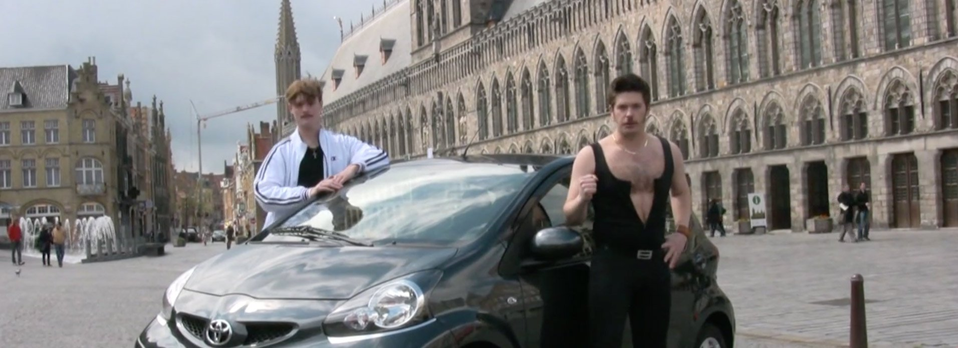 Ryan Northcott Actor Car Dance Party Belgium